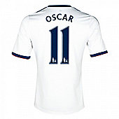 2013-14 Chelsea Away Shirt (Oscar 11) - White
