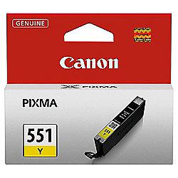 Canon Inkjet CLI 551 printer ink cartridge - Yellow