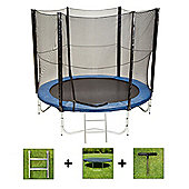 Up and About 6ft Jump Easy Trampoline Package with Free Ladder, Weather Cover and Building Tool