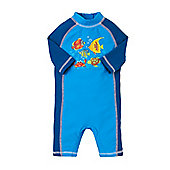 Mothercare Baby Boy's Fish Print Sunsafe Size 9-12 months