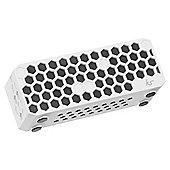 Kitsound Hive Bluetooth Speaker White