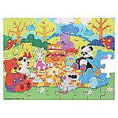 Bigjigs Toys BJ042 Picnic in the Park Puzzle (48 Piece)