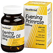 Evening Primrose Oil 500mg + Vitamin E