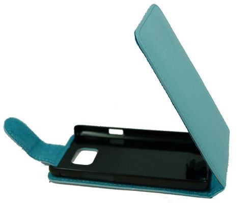 U-bop Neo-ORBIT Leather Case Blue - For Samsung Galaxy S3 S III GT-I9300