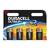 Duracell Ultra Power M3 C Alkaline Battery