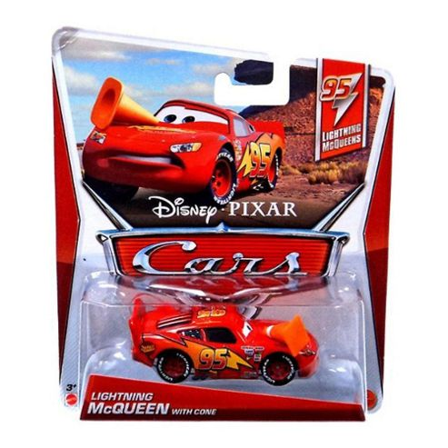 Disney Cars Lightning McQueen with CONE (Lightning McQueen Series, #3 of 5)