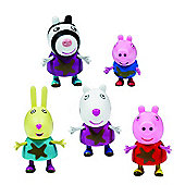 Peppa Pig 5 Figure Pack Muddy