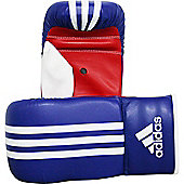 Adidas Response Bag Boxing Gloves - Blue