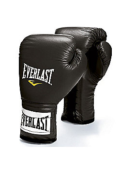 Everlast Laced Boxing Sparring Glove - Black