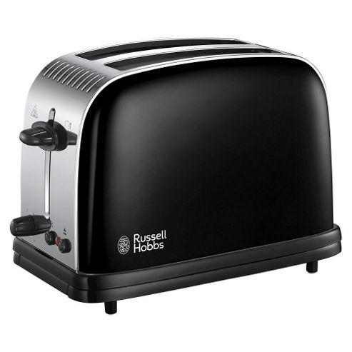 ... Colours Plus 2 Slice Toaster - Black from our Toasters range - Tesco