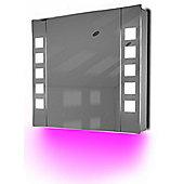 Ambient Demist Bathroom Cabinet With Sensor & Internal Shaver Socket K63P