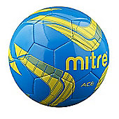 Mitre Ace 32P Football - Blue - White