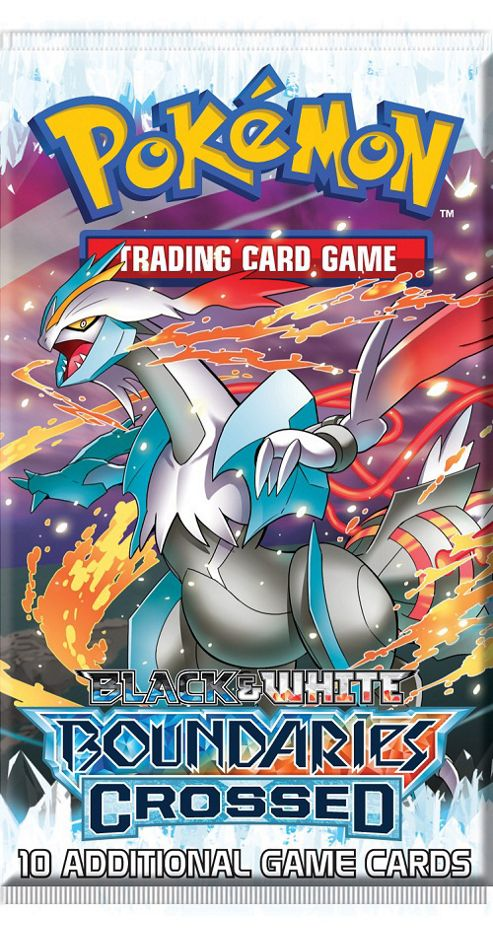 1 x Pokemon Black & White - Boundaries Crossed Booster Pack - Pokemon