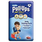 Huggies Pull Ups Potty Training Pants - Size 6 - Boy - Night Time - 10 pack