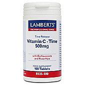 Vitamin C 500mg Time Release W/Bioflavonoids