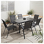Seville Garden Dining Set, 7 piece