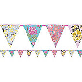 Truly Scrumptious Floral Bunting - Paper 4m
