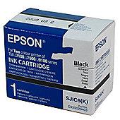 Epson SJIC6K Ink Cartridge (Black) for Epson TM-J7100 Printer