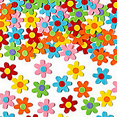 Kids Crafts Self-Adhesive Felt Flowers(Pack of 60)