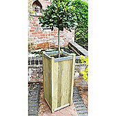 Timberdale Slender Planter - 100(h) x 40x41