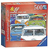 Ravensburger Camper Van Jam- 500 Piece Puzzle