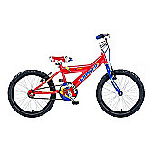"Concept Thunder 18"" Kids' Bike, Red/Blue"