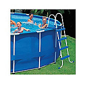 "Intex 48"" Coated Steel Frame Pool Ladder"