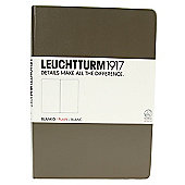 Leuchtturm 1917 Medium Notebook Plain Taupe