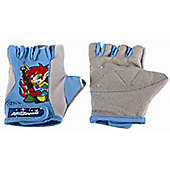 Kidzamo Boys Protective Cycle Glove / Mitt with Coby Blue Design