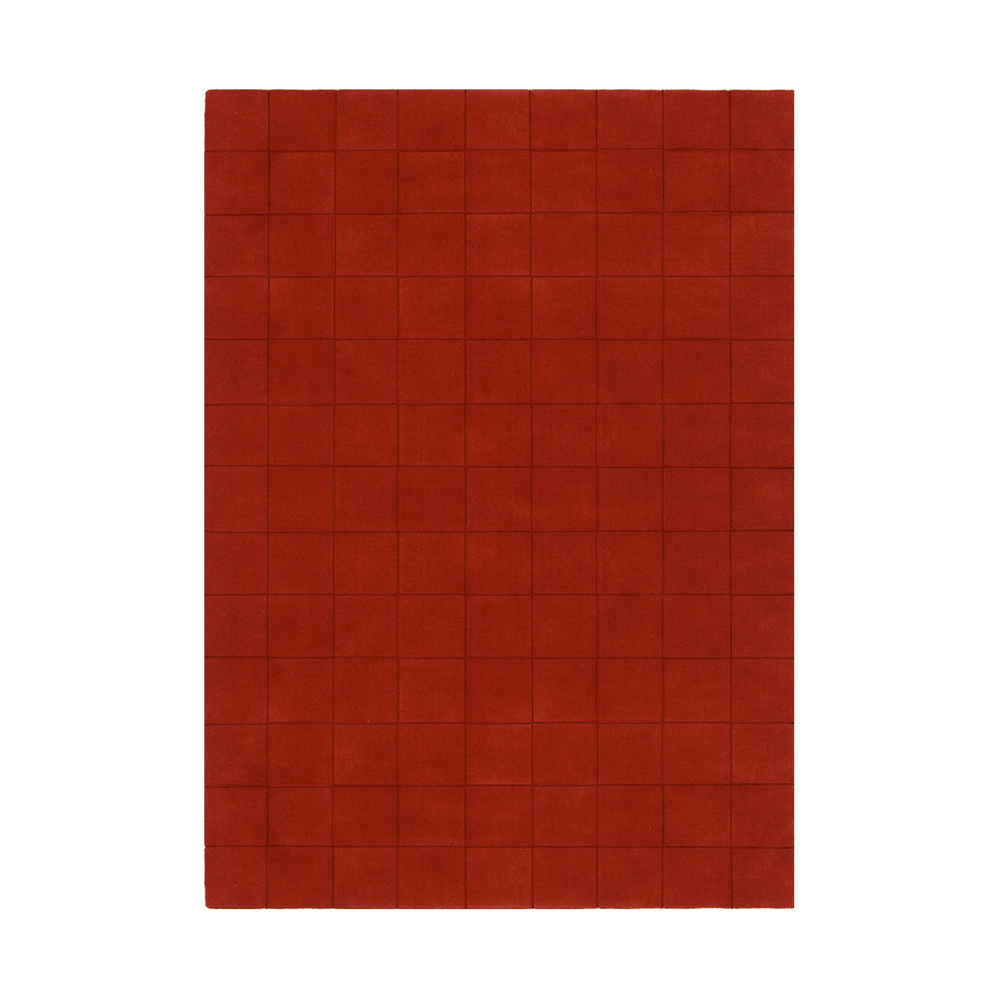 Linie Design Luzern Red Rug - 240cm x 170cm at Tesco Direct