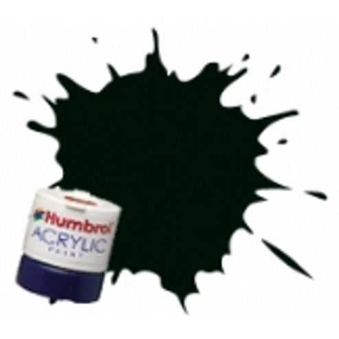 Humbrol Acrylic - 14ml - Matt - No91 - Black Green