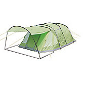 Yellowstone 6 Man Camping Tent With 2 Side Doors Green