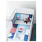 Tesco Cot Bumper And Quilt - Billy