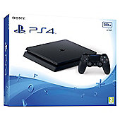 PS4 Slim 500GB Console Black (D Chassis)