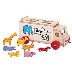 Bigjigs Toys BJ300 Animal Shape Lorry