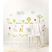 Mothercare Snoozie Safari Wall Stickers
