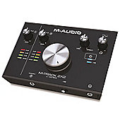 M-Audio M-Track 2X2 | 2-In/2-Out 24/192 USB Audio Interface for High-Resolution, Studio Grade-Recording
