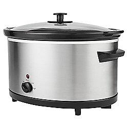 Tesco SCSS13 5.5L Slow Cooker