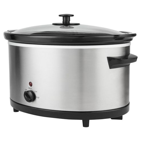 Tesco Direct Slow Juicer : Buy Tesco Slow Cooker, SCSS13, 5.5L - Stainless Steel from our Slow Cookers range - Tesco