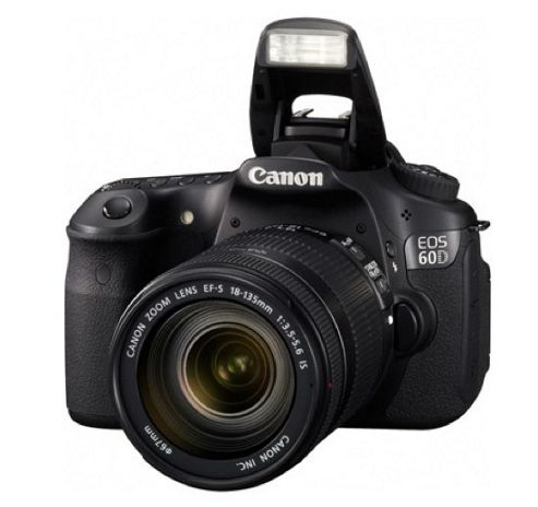 Canon EOS 60D Digital SLR Camera Body - Black