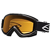 Smith Optics Cascade Classic Ski Goggle Black/Gold Lite