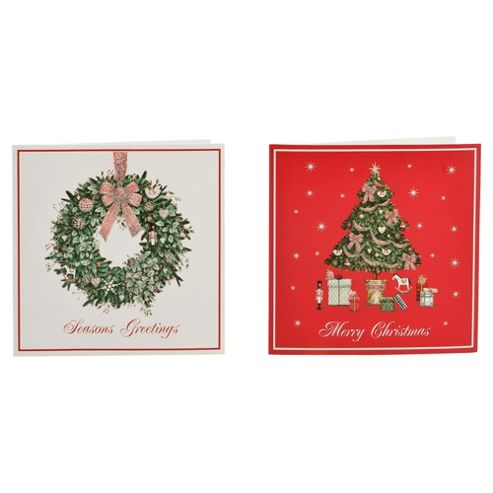 Tesco Charity Christmas Cards, 30 Pack