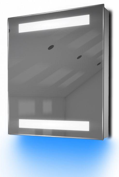 Buy Ambient Bathroom Mirror Cabinet With Sensor Internal Shaver Socket