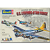 Revell Flying Legends 8Th Usaaf Gift Set 1:72 Model Kit 05794