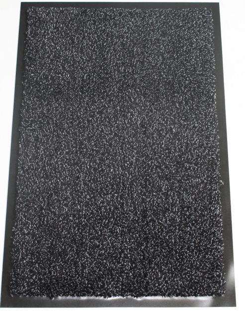Dandy Washamat Black Mat - Runner 60cm x 180cm
