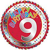 18' 9th Birthday Foil (each)
