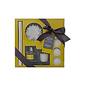 Linea Lemongrass & Ginger Starter Giftset In Clear