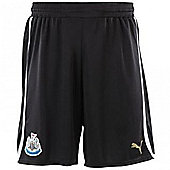 2012-13 Newcastle Home Puma Shorts (Kids) - Black