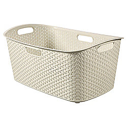 Curver My Style Cream 47L Laundry Basket