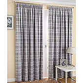 Enhanced Living Edinburgh Slate Curtains 168X137cm